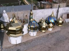 Domes for temples with application of unique