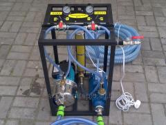 Equipment for production of a penoizol