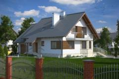 Проекты частных домов, коттеджей.  Проект: