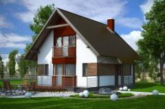 Дома жилые эконом категории.  Проект: «Фокус» 76