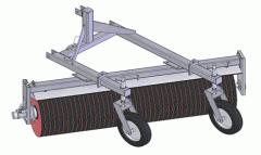 Щетка дорожная с гидроприводом, Оборудование