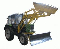 Loading equipment (set = front-end loader + dump