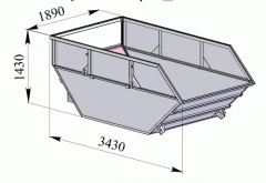 Body container, Body parts