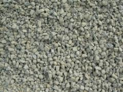 Crushed stone, sand, elimination, stone rubble