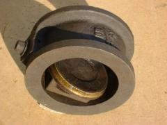 Backpressure rotary valve one-disk 19ch21br Du50,