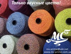 Twine of cotton 400 - 1600 Tkh