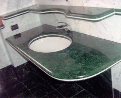 Ванная комната (мрамор). Изделия из мрамора