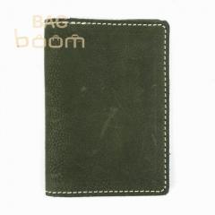 Кожаная обложка-книжка для документов BlackBrier (ОП-2-76)