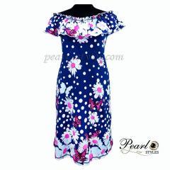Платье женское купонное
