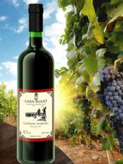 Вино Троицкое красное крепленное, 075 л