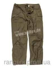 Pantalons militaires