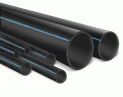 Pipe polyethylene with a broach