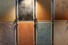 Декоративные штукатурки, специальные покрытия для