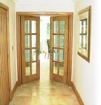 Wooden doorframes