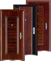 Blocks door wooden