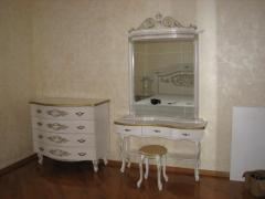 Furniture for a bedroom under the order from a