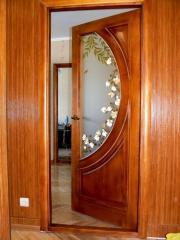 Розпись на склі дверей