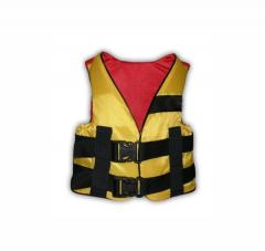 Safety vest of 10-30 kg (one-colored/camouflage)
