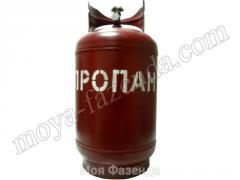 Cylinder of propane 27 liters Ukraine (R-22 code)