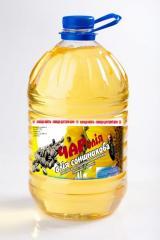 Sunflower oil the refined Charoliya's TM