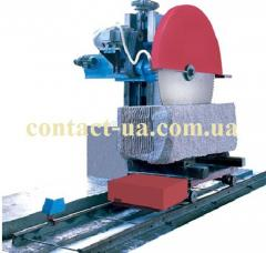 The automatic machine for stone cut one-saw