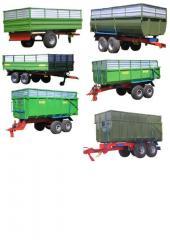 Тракторні причепи ТСП