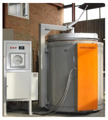 SShO electric furnace 8.12/11, Power: 70,0 kW.
