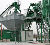 Мобильный бетонный завод