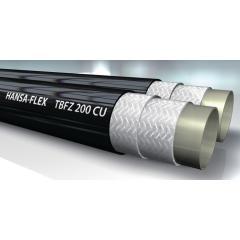 Шланг высокого давления, тип TBFZ CU, сдвоенный, медный провод - TBFZ 200 CU