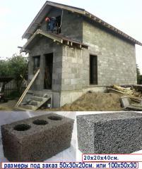 Арболитовые блоки для строительства, арболит,