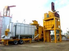 Мобильный асфальтобетонный завод 60 тонн/час на
