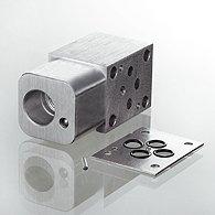 Корпус клапана Ventilgehause Zwischenplatte Messanschluss fur Cartridgeventile T-11A - HK GEH EBA
