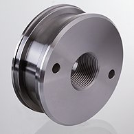 The screw piston short for the hydraulic cylinder