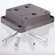 The assembly panel for QV stream valve regulator -