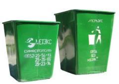 Контейнеры для  отходов, нестандартные изделия по