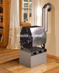 Отопительная печь булерьян  для дачи Эконом 3в1