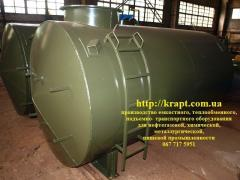 Capacity for storage of fuels and lubricants land,