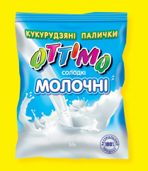 Corn sticks milk, 55 g, 165 g