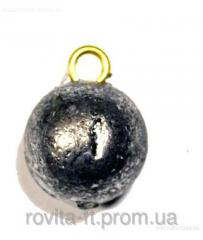Fishing Sinkers loads the Load sphere with ring