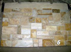 Природний камінь - сланець,травертин, туф і ін.