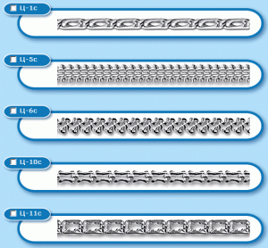 Цепи, цепочки, браслеты, серебро 925 пробы со