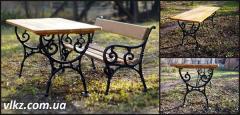 """Sidewalls of a garden table """"Sofia"""