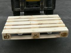 Production of pallets according to drawings of the