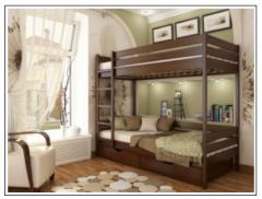 Кровать Двухъярусная кровать Дуэт (бук)