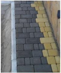 Формы резиновые для производства тротуарной плитки