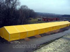 The pavilion warehouse from PVC