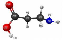 El aminoacido L-Лейцин