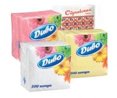 Столовые бумажные салфетки Диво