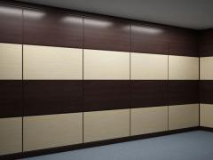 Panels wall wooden