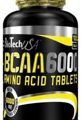 Аминокислота  BCAA 6000 100 таблеток BioTech